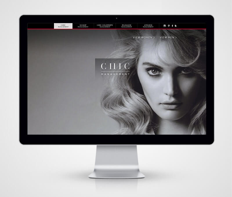 chic management website