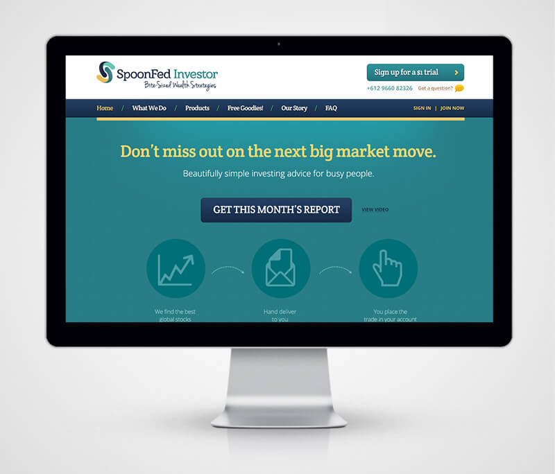 spoonfed investor website
