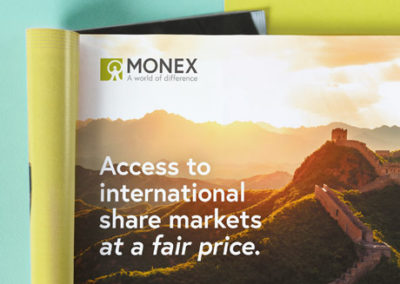 Monex Securities Australia – Website & Brand Launch